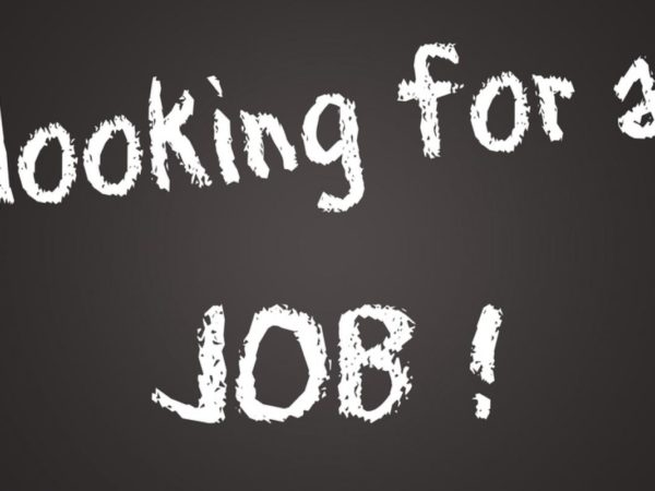 Copy of Looking for a job